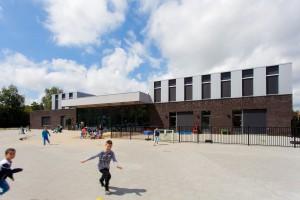 Huizingaschool voorkant